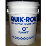 Ameristar Fence Products - Quik-Rok Chemically Engineered Hydraulic Cement