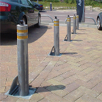 Ameristar Fence Products - Retractable Manual Bollards