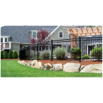 Ameristar Fence Products - Montage Residential Steel Fence