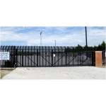 Ameristar Fence Products - PassPort IS High Security Sliding Roll Gate