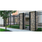 Ameristar Fence Products - Steel Estate Residential Steel Estate Gate
