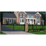 Ameristar Fence Products - TransPort Estate Premium Residential Cantilever Gate