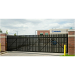 Ameristar Fence Products - TransPort IS High Security Cantilever Slide Gate