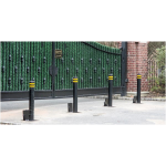Ameristar Fence Products - Retractable Manual Bollards Economical Security & Traffic Control