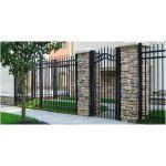 Ameristar Fence Products - Steel Estate Residential Steel Estate Gate
