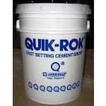 Ameristar Fence Products - Quik-Rok Fast Setting Cement Grout & Additive