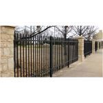 Ameristar Fence Products - Aegis II Industrial & Security Steel Fence