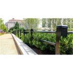 Ameristar Fence Products - Stalwart Anti-Ram Post & Rail Barrier