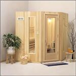 Finlandia Sauna Products, Inc. - Finlandia Five-Sided Prefab Sauna