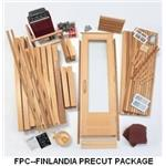 Finlandia Sauna Products, Inc. - Finlandia Precut Sauna Packages (FPC)