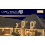 GAF - Grand Sequoia IR® Lifetime Designer Asphalt Shingles