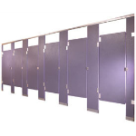 General Partitions Mfg. Corp. - Fiberglass Reinforced Plastic Toilet Partitions