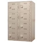 General Partitions Mfg. Corp. - Solid Plastic HDP (High Density Polymer) Lockers