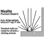 Nixalite of America Inc. - Nixalite Model S Bird Spikes