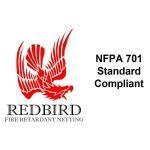 Nixalite of America Inc. - Redbird Fire Retardant Netting