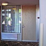 Special-Lite, Inc. - SL-22 FRP Rustic Wood Grain/Stainless Steel Door