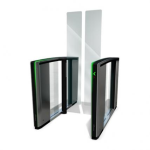 Boon Edam Inc. - NEW! Speedlane Swing - Optical Turnstiles