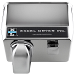 Excel Dryer, Inc. - CAST Cover Series Push Button Activated Hand and Hair Dryers - 76-C