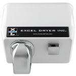 Excel Dryer, Inc. - CAST Cover Series Push Button Activated Hand and Hair Dryers - 76-W
