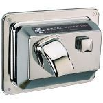 Excel Dryer, Inc. - Hands On™ Series Recessed Mounted, Chrome Plated Cover Hand and Hair Dryer