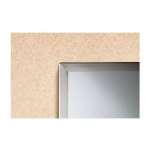 Bobrick Washroom Accessories, Inc. - B-1658 1830 Tempered Glass Channel Frame
