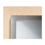 Bobrick Washroom Accessories, Inc. - B-2908 2436 Tempered Glass Welded-Frame Mirror