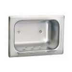 Bobrick Washroom Accessories, Inc. - B-4380 Recessed Heavy-Duty Soap Dish