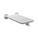 Bobrick Washroom Accessories, Inc. - B-518116 x 32 Vinyl-Coated Folding Bathtub Seat