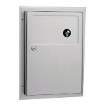 Bobrick Washroom Accessories, Inc. - B-354 ClassicSeries® Partition-Mounted Sanitary Napkin Disposal