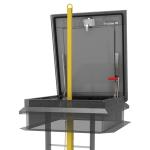 Nystrom - Ladder Safety Post