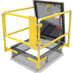 Nystrom - Roof Hatch Safety Railing