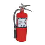 Nystrom - BC Dry Chemical Fire Extinguisher