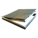 Nystrom - Fire-Rated Architectural 1/8 inch Pan Floor Door