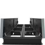 Nystrom - Quad Door AcousticMAX™ 48 Smoke Vent