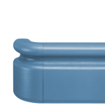 """Nystrom - 5-1/2"""" Handrail with Thumb Grip"""