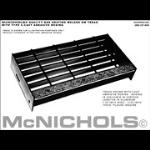 "McNichols Co. - Cast Abrasive Nosing, Aluminum, 1.25"" x 35.5"" - 6000144435"