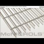 "McNichols Co. - Bar Grating, Aluminum, Swage-Locked, I-Bar Series, GIA 100, 36.0000"" x 240.0000"" - 6701317732"