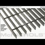 "McNichols Co. - Bar Grating, Plain Steel, Welded, GW Series, GW 100, 36.0000"" x 240.0000"" - 6201310132"