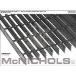 "McNichols Co. - Bar Grating, Plain Steel, Welded, GW Series, GW 125, 36.0000"" x 240.0000"" - 6604310132"