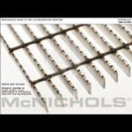 "McNichols Co. - Bar Grating, Plain Steel, Welded, GW Series, GW 125, 36.0000"" x 288.0000"" - 6604310234"