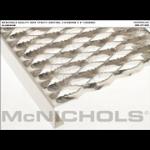 """McNichols Co. - GRIP STRUT® Plank Grating, Aluminum, 2"""" Channel, 9.5000"""" x 144.0000 - 270420-A12"""