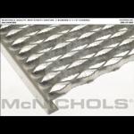 "McNichols Co. - GRIP STRUT® Plank Grating, Galvanized, 1-1/2"" Channel, 11.7500"" x 120.0000 - 2405151210"