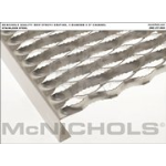 "McNichols Co. - GRIP STRUT® Plank Grating, Stainless Steel, 2"" Channel, 11.7500"" x 120.0000 - 2805201610"