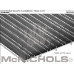 "McNichols Co. - DIAMONDBACK® Tread Plate, Aluminum, 0.110 Gauge, Solid Surface, 12"" x 144"" - T712000112"