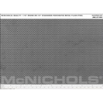 "McNichols Co. - Round Perforated, 18 Gauge Plain Steel, 1/16"" Round on 1/8"" Staggered, 48.0000"" x 120.0000"" - 161118"