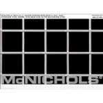 """McNichols Co. - 2"""" Square Opening Wire Mesh 0.2500"""" Wire, Square Weave, Galvanized, 48.0000"""" x 96.0000"""" - 3293920148"""