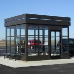 Little Buildings, Inc. - Bus Stop-Smoking Shelter - Model #LB 1112, 11' X 12'