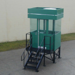 Little Buildings, Inc. - Guardhouse with Stand 46P2S