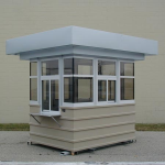 Little Buildings, Inc. - Parking or Guard Booth 6' x 8'