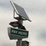Little Buildings, Inc. - Pay On Food LED Solar Powered Sign